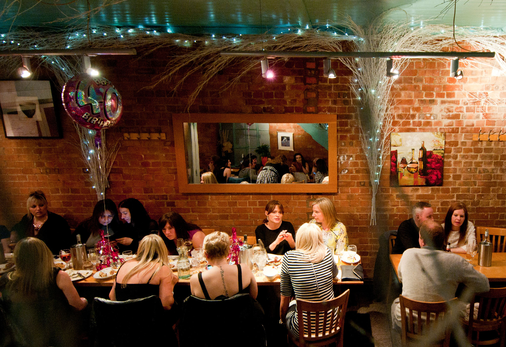 group booking for st albans restauant